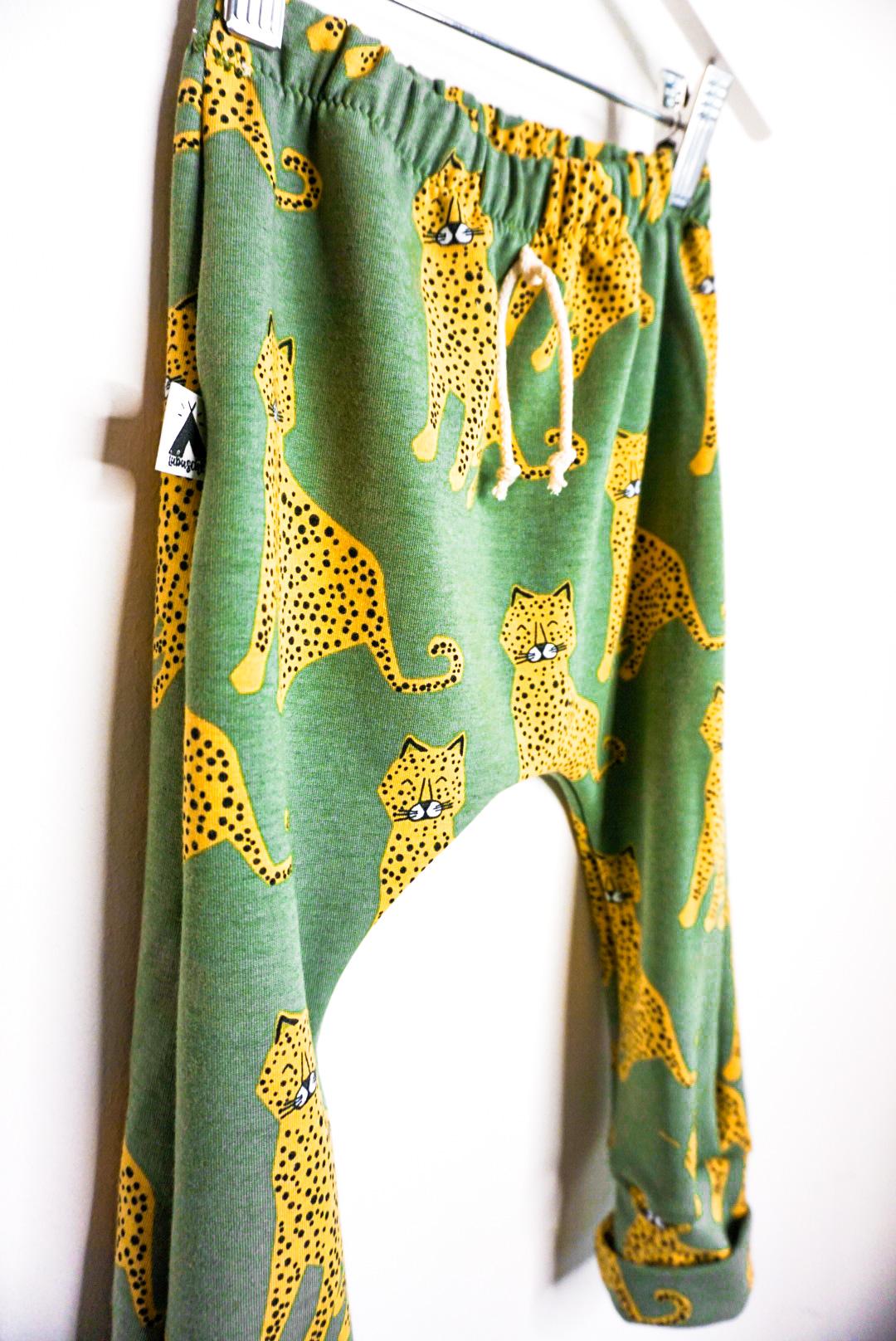 Slim Harem Pants Leopard